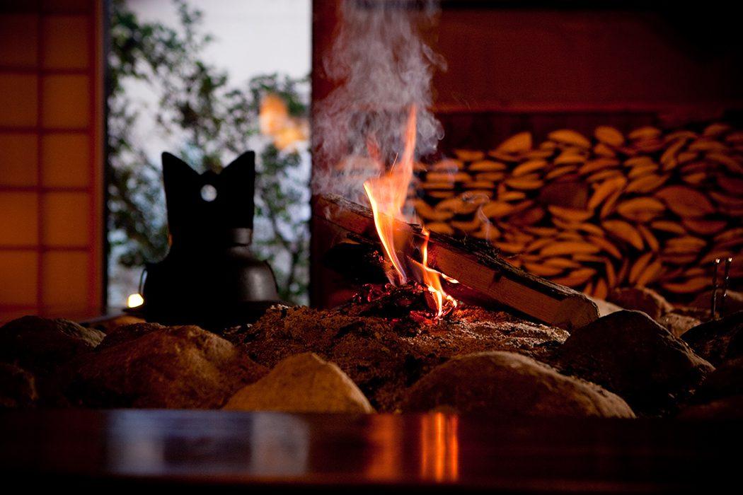焚き木の魔法